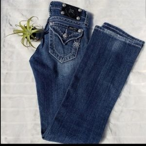 Miss Me boot cut jeans